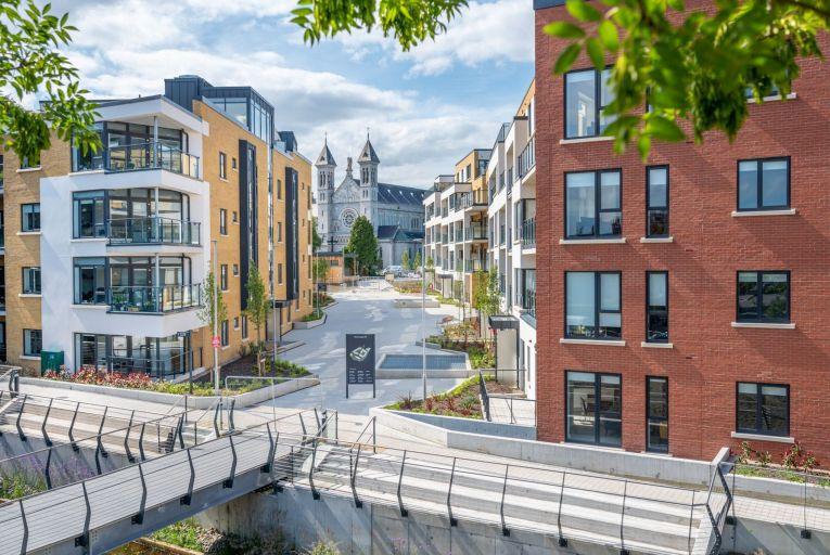 The Mount Argus apartment development in Harold's Cross, Dublin, brought to market by Hooke & MacDonald. Photo: Ben Ryan