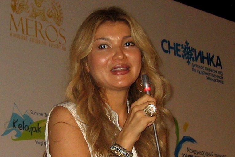 Gulnara Karimova, the daughter of Uzbekistan's former authoritarian president Islam Karimov: up to $300 million in corrupt payments to her were laundered through the IFSC in Dublin. Photo: Getty