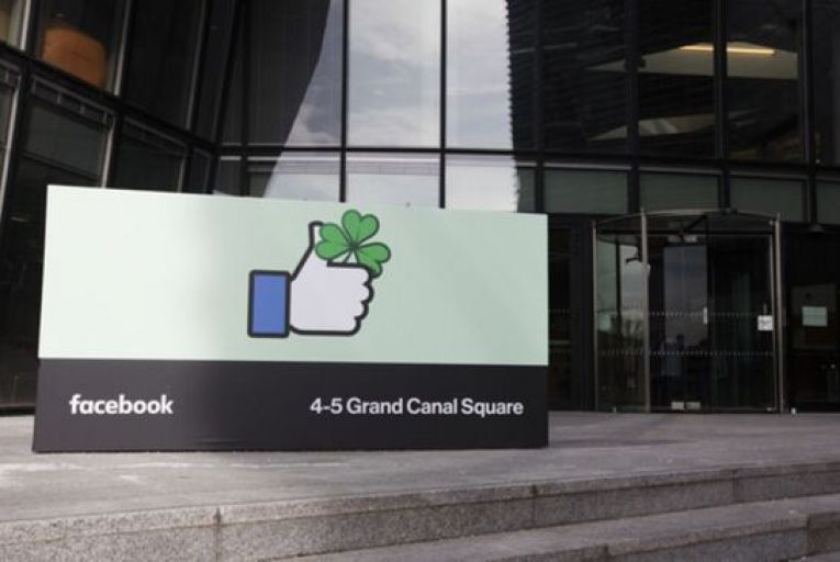 Facebook's office in Dublin where it employs 3,000 staff who now have the option of working remotely from abroad. Picture: RollingNews.ie