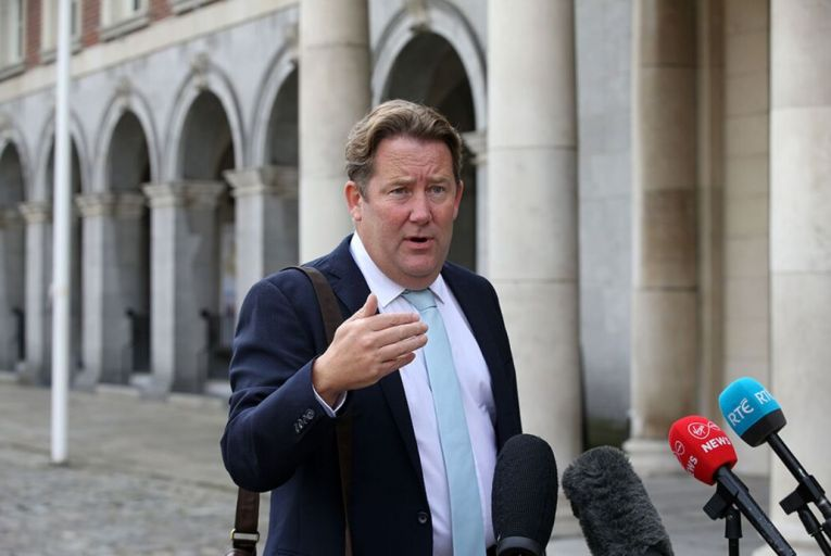Darragh O'Brien, the Minister for Housing, said he was advised by housing department officials that 2,400 social housing lease deals were potentially in jeopardy. He said that an exemption from the new 10 per cent stamp duty rate, which applies to bulk purchases, was needed to save delivery of these homes. Picture: Rollingnews.ie