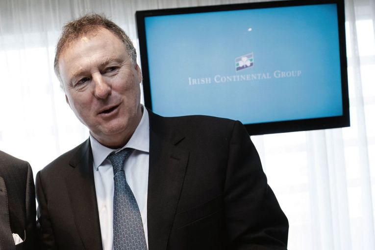 Eamonn Rothwell, chief executive of Irish Continental Group: ICG said it was concerned about the lack of implementation of the Northern Ireland protocol. Picture: Fergal Phillips