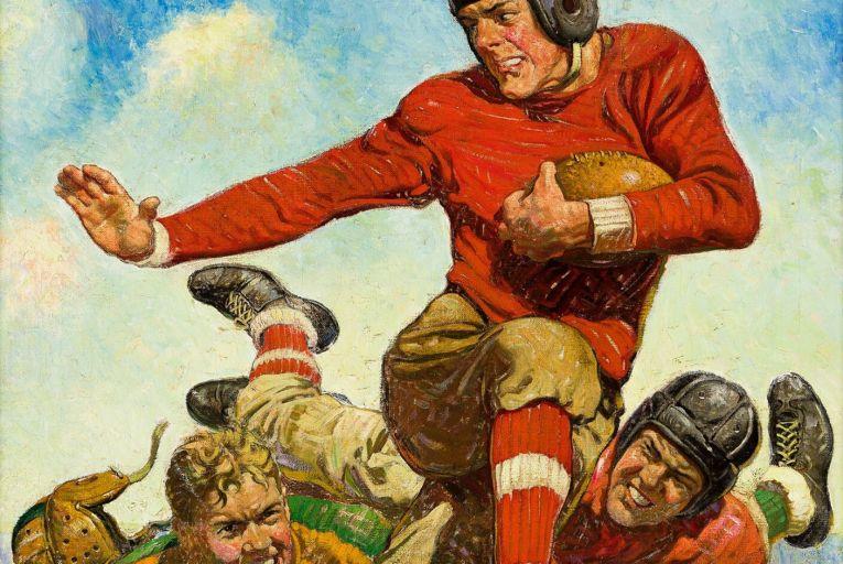 Object of desire: Joseph F Kernan's College Football