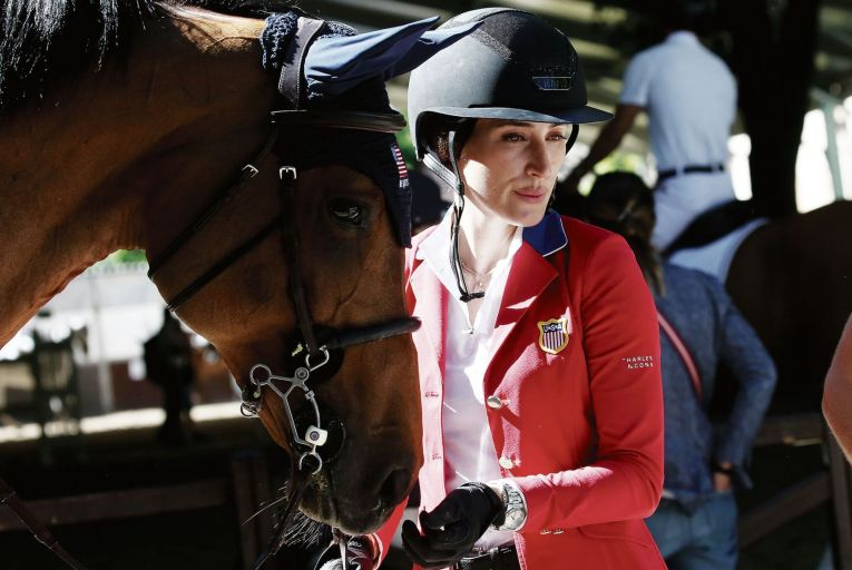 Jessica Springsteen is going to the Olympics as part of the USA's equestrian team. Picture: GC Images