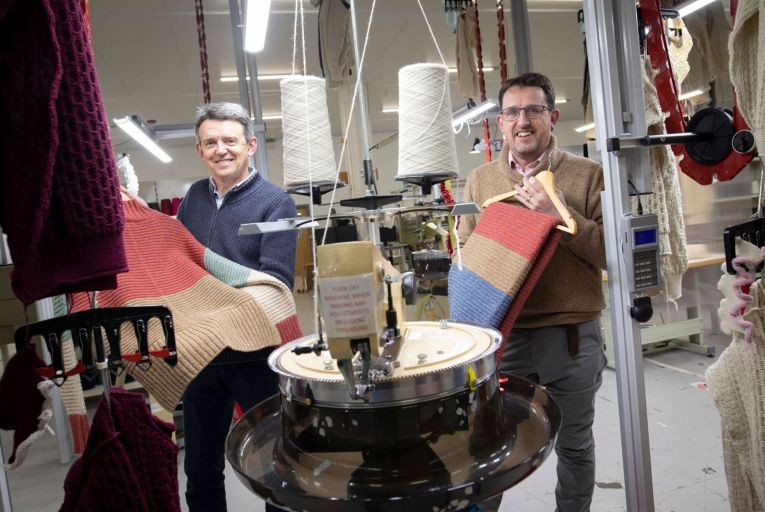 Making It Work: Family knitwear firm keeps the home fires burning