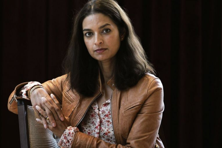 Jhumpa Lahiri's fiction is written in Italian and then translated by herself into English