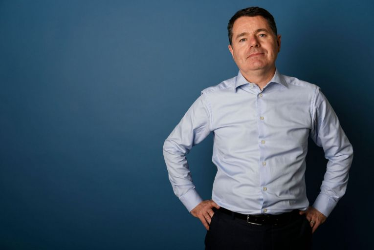 Minister for Finance and Eurogroup president Paschal Donohoe