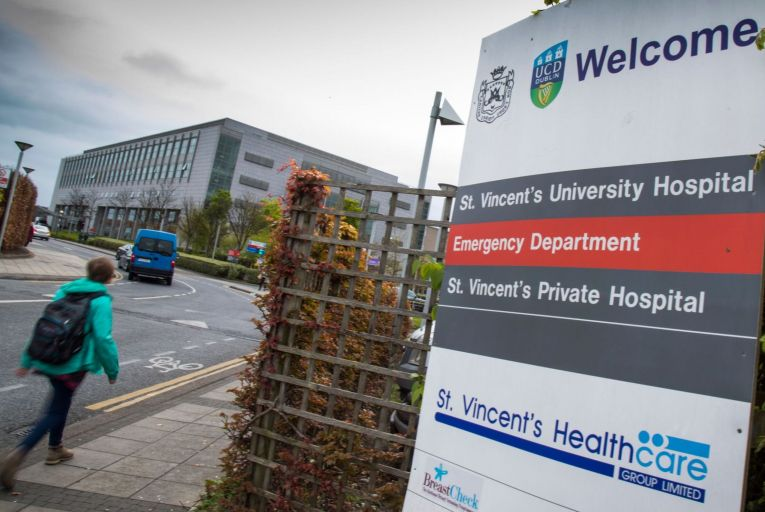 St Vincent's Hospital: row rumbles on about clinical independence. Picture: Fergal Phillips