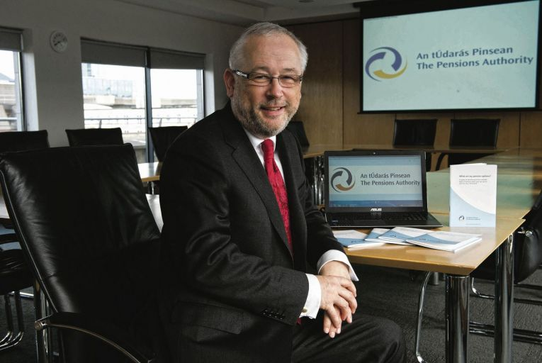 Brendan Kennedy, the Pensions Regulator: 'compliance will involve very significant changes'. Picture: Maura Hickey