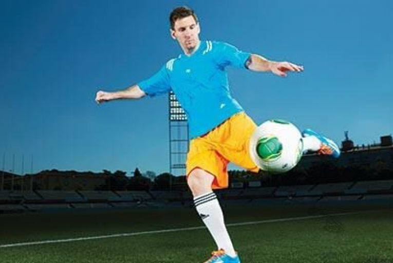 Lionel Messi, one of the jewels in Adidas's crown