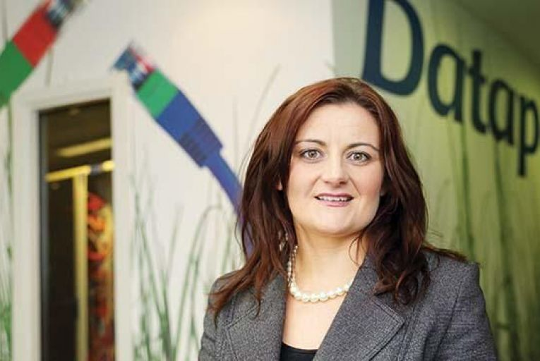Karen O'Connor, general  manager for service  delivery, Datapac