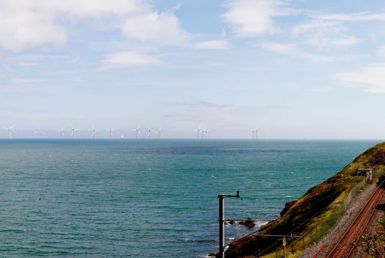 First images of €1.5bn east coast wind farm revealed