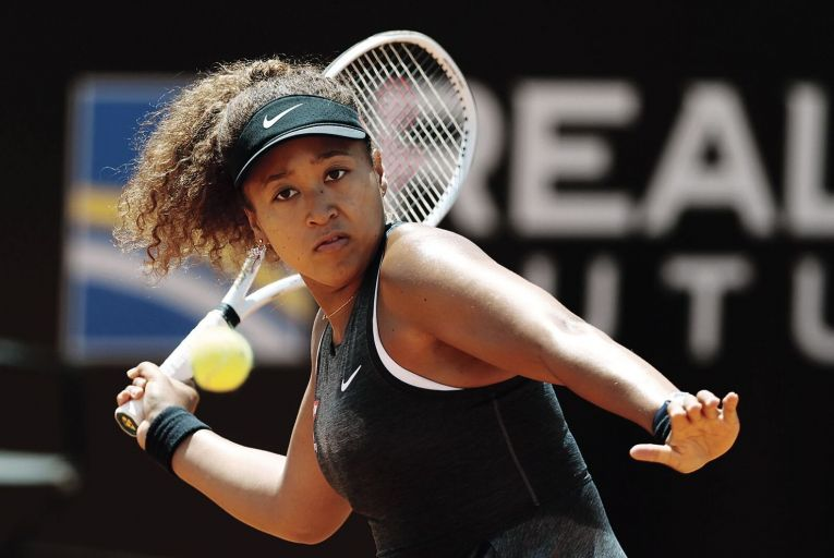 Naomi Osaka refused to take part in post-match interviews at the French Open in order to protect her mental health. Picture: Getty