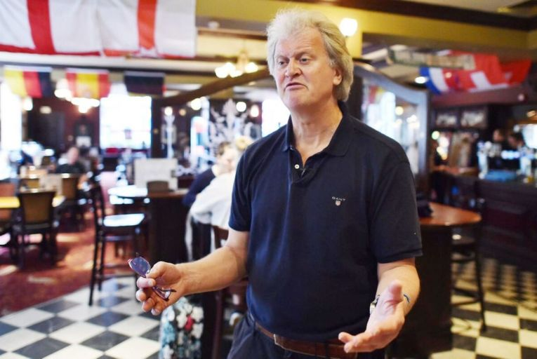 Tim Martin, founder of Wetherspoons: eager to snap up more Irish pub premises