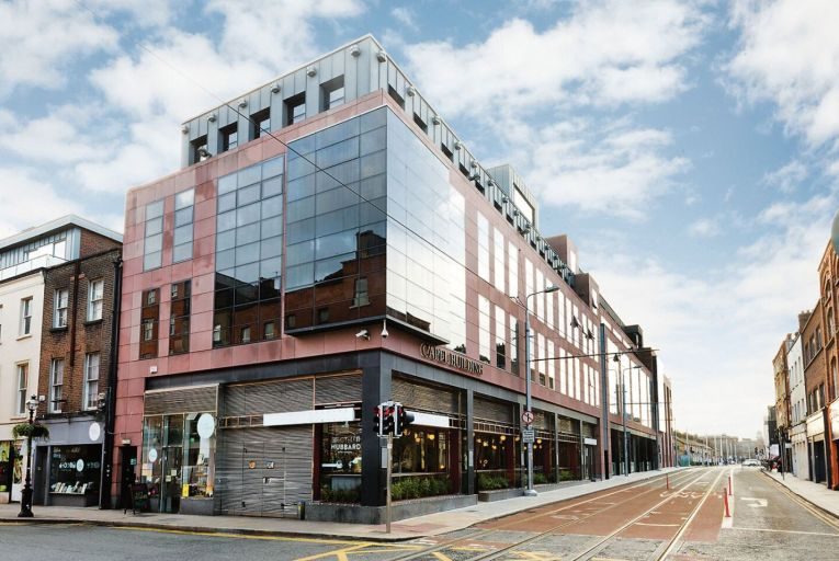 Penthouse offices for €3.45m in heart of Dublin city