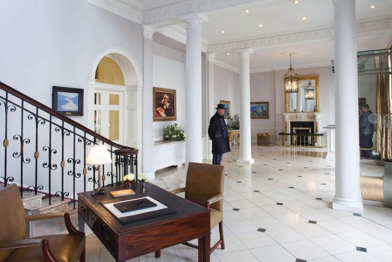 The Merrion Hotel dates back to the 1760s but beautifully blends the historic and the modern