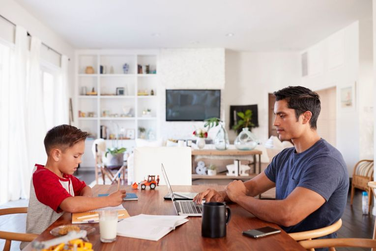 Working from home: employees who are remote working during this time are often also juggling childcare and home-schooling, and might not have their own office space