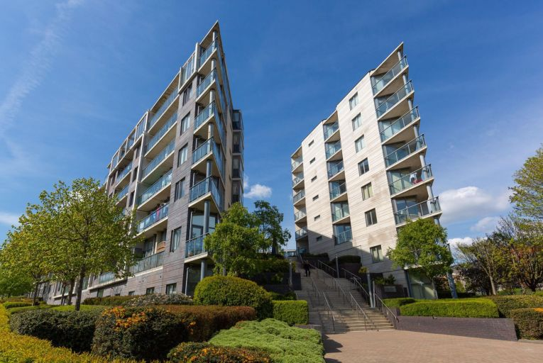 The units are located in Prospect Hill, a scheme of 479 apartments spread across nine blocks