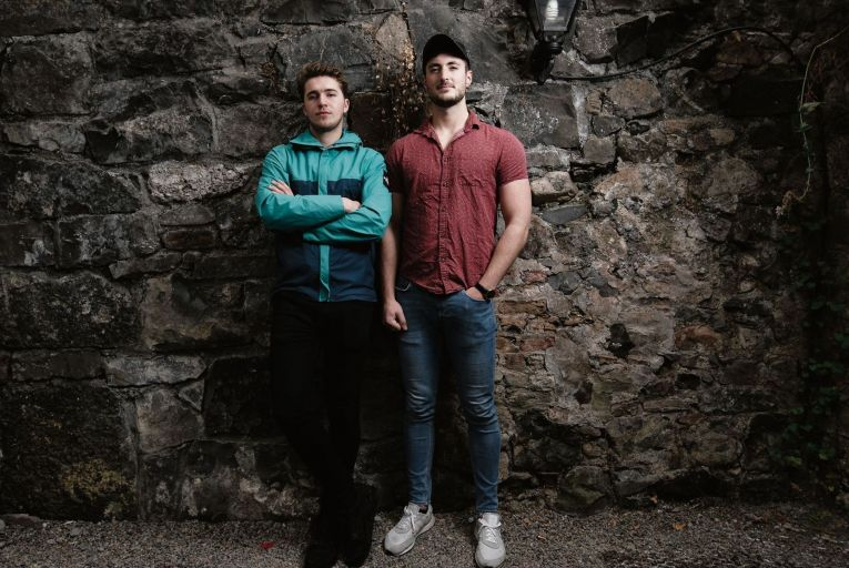 Rory McCormack and Cathal O'Connor, joint owners of Handsome Burger, launched cook-at-home burger kits when lockdown hit their dine-in trade. Picture: Michael Dillon