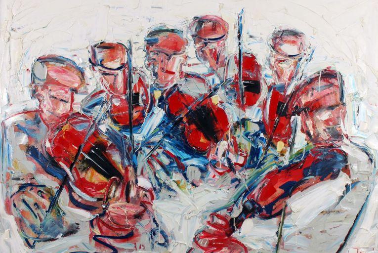 Fine Arts: Fiddlers on the hoof as Vallely headlines Gormley's sale