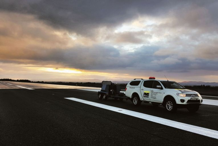 PMS specialises in testing, evaluation and management of roads, airports, and ports