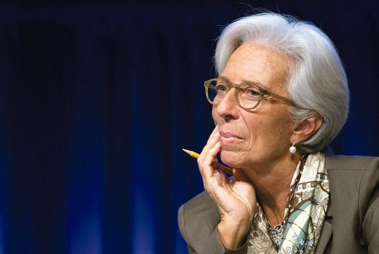Christine Lagarde: increasing  the share of women  leaders in banking would  stabilise the sector Picture: Getty