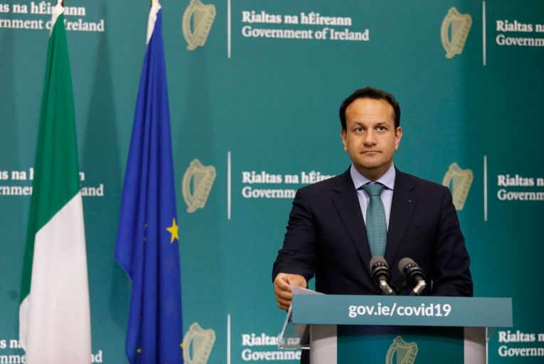 Leo Varadkar: signalling that tax cuts need to be considered. Picture: Photocall Ireland