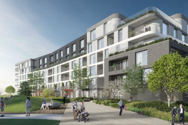 Plans for Marlet's Claremont development comprising 512 apartments on the Howth Road in Dublin 13