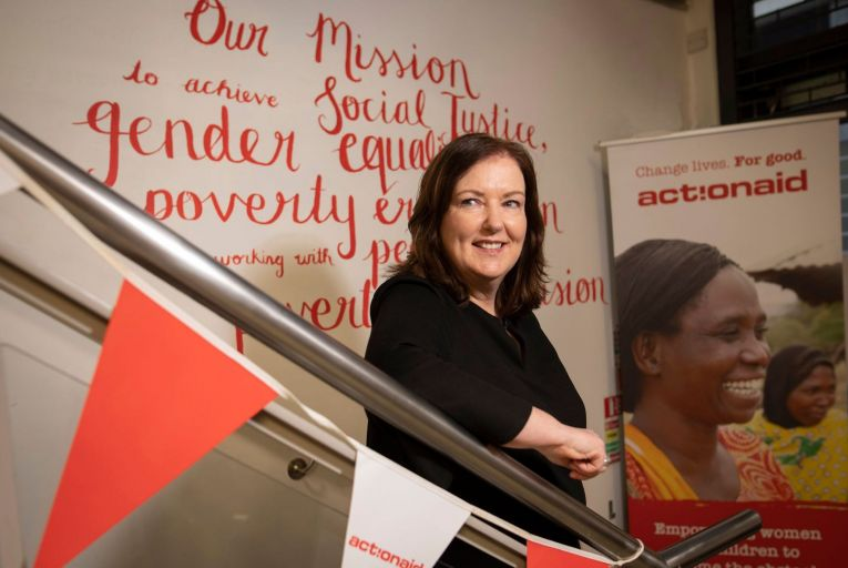 Siobhán McGee, chief executive of ActionAid.
