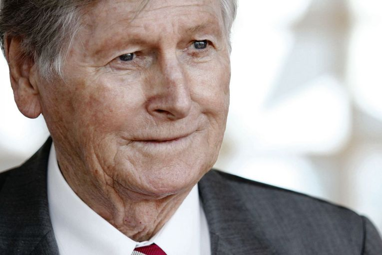 Michael Smurfit: the packaging tycoon took risks with his business, where if had gone wrong, 'we were toast' he said Pic: Feargal Ward