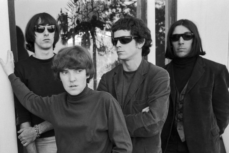 Nico pictured with Maureen Tucker, Sterling Morrison, Lou Reed and John Cale of the Velvet Underground: the band are the subject of a new two-hour documentary to be shown on Apple TV+ and a new tribute album. Picture: Getty