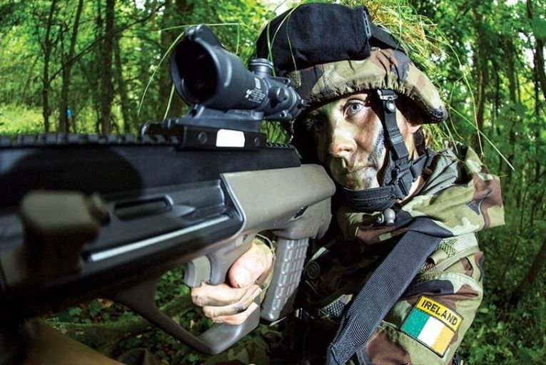 The Defence Forces have invested  20,000 in a campaign to  attract more women recruits  Picture: Irish Defence Forces