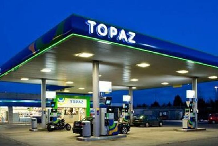 Topaz service station Pic: The Sunday Business Post