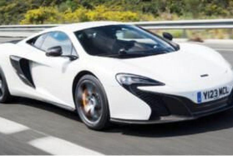 McLaren's road car grows up