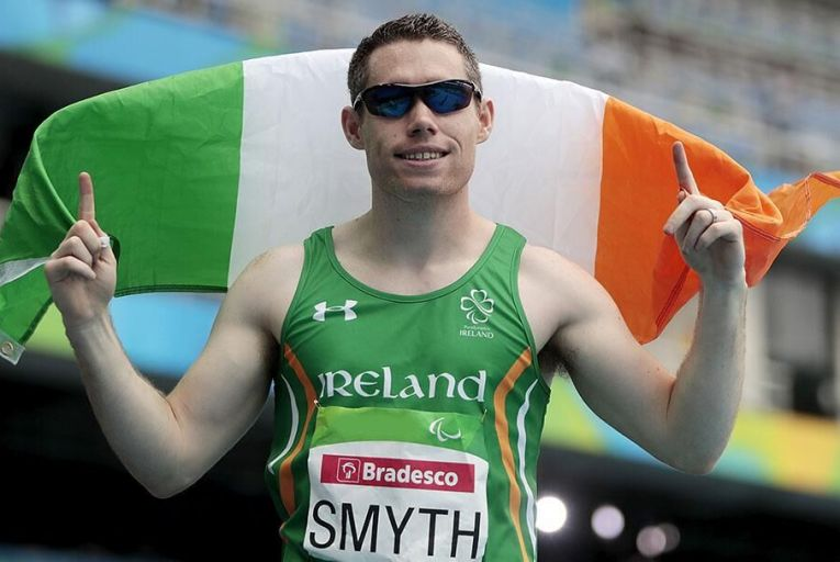 Jason Smyth tok home another gold for team Ireland during last week Pic: Getty