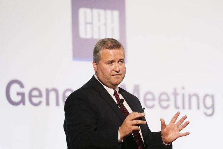 CRH\'s chief executive Albert Manifold Pic: RollingNews.ie