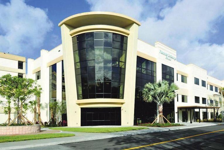 The Jupiter Medical Center in Florida, built by Gerrits Construction