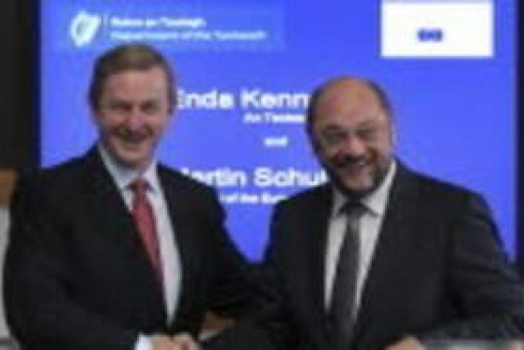 EU parliament head to meet Taoiseach