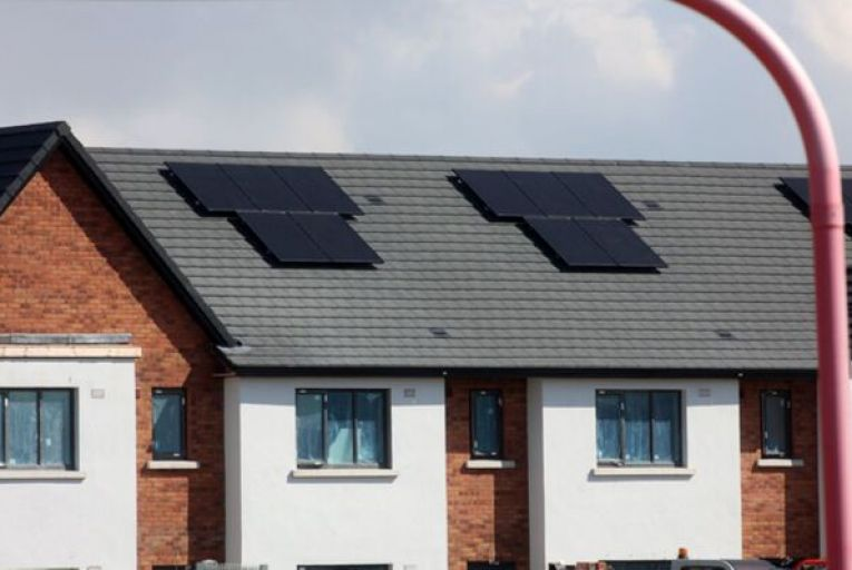More than half of the completed builds during the second quarter were multi-unit developments of two or more houses. Picture: Rollingnews.ie
