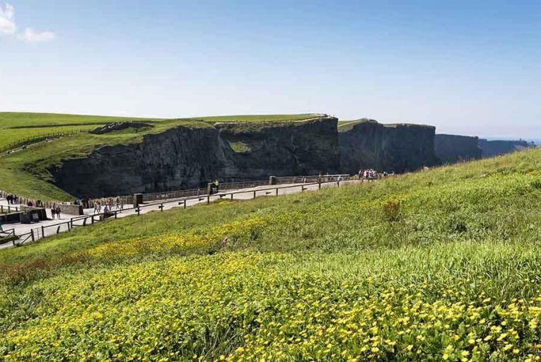 Visitors at the Cliffs of Moher Pic: Ireland\'s Content Pool
