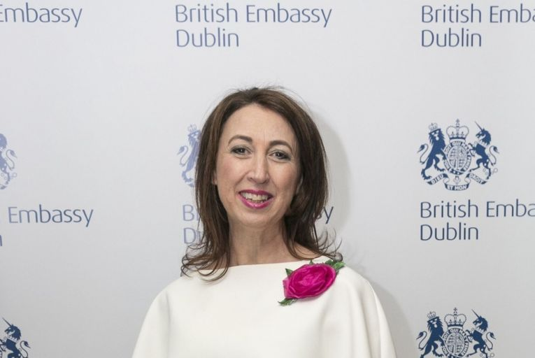 Shirley McCay, the director of trade and investment with the British embassy in Ireland. Picture: Paul Sherwood