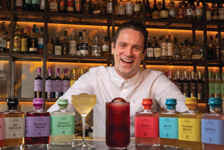 Dave Mulligan, owner of Bar 1661 and Craft Cocktails: 'We don't employ a single salesperson – people come to us looking to stock the cocktails.' Photo: Fergal Phillips