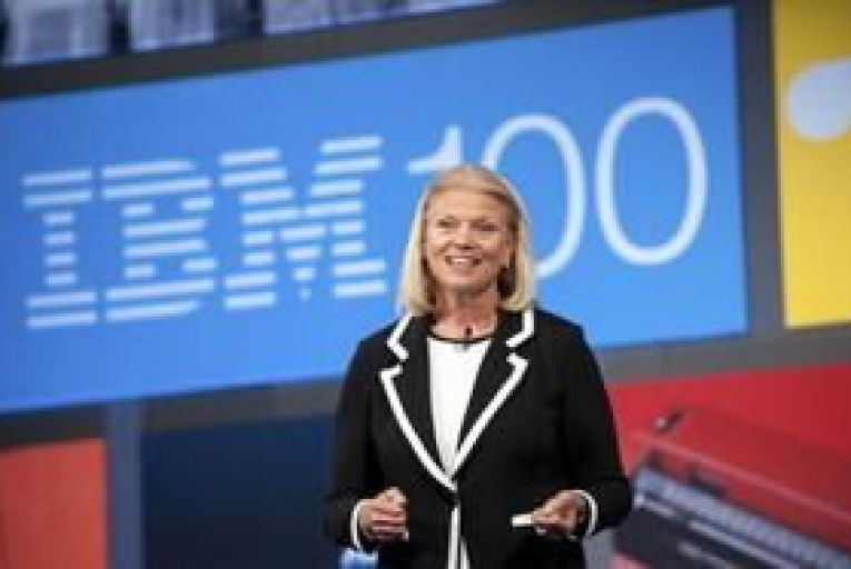 """IBM """"on track"""" to achieve 2015 targets says Rometty"""