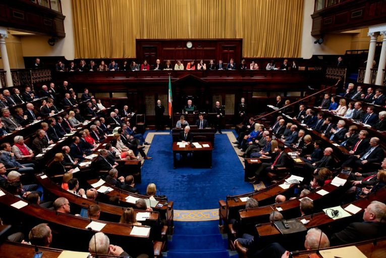 Air filters will not be used in Leinster House when TDs return