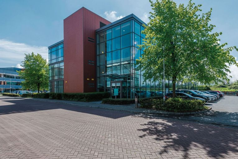 Block 17 in the Park West Business Campus comprises a modern three-storey office building of some 2,541 square metres