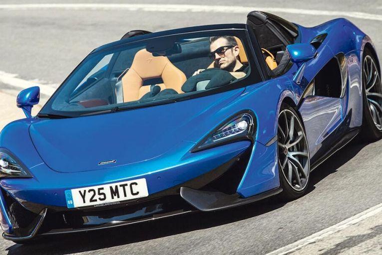 McLaren's 570S Spider offers speed and  attractiveness