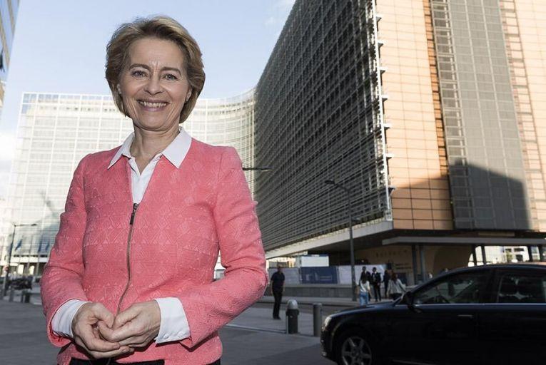 Ursula von der Leyen of the European Commission