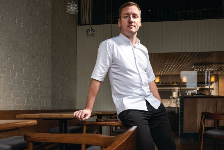 Steve Toman, head chef at Ox: 'The pandemic has been a catastrophe for everyone, but I guess what people are only realising now is just how interconnected everything is.' Photo: Elaine Hill