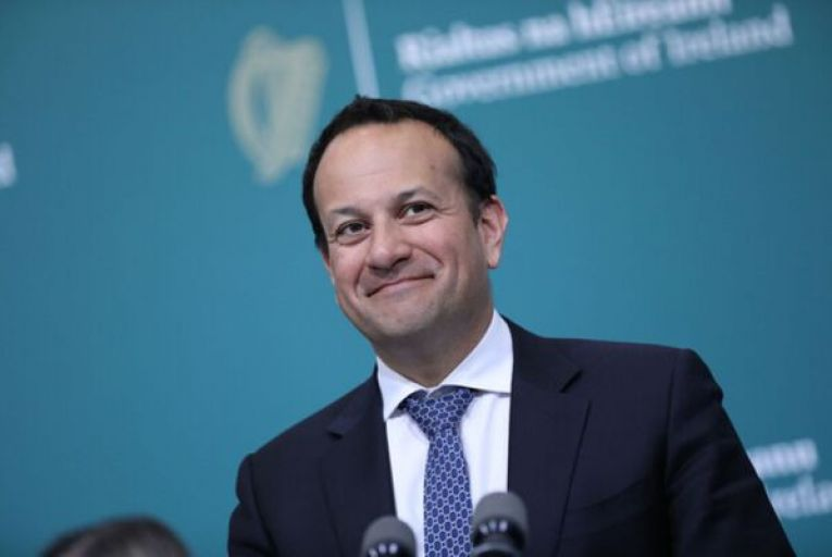Tánaiste Leo Varadkar was very proud of the fact that his government got the National Broadband Plan contract over the line but the project is facing major setbacks. Picture: RollingNews.ie