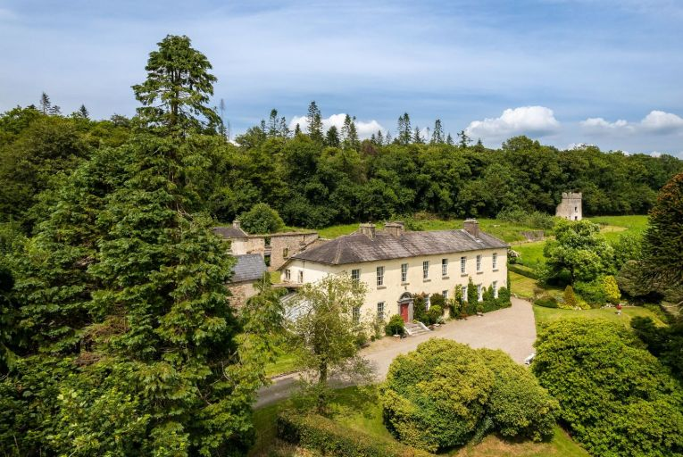 Once part of a vast estate of some 1,200 acres, Healthfield now offers close to a more manageable 20 acres of rolling gardens, woodlands, parklands, paddocks, an apple orchard, stables, a gate lodge and a delightful tower house. Picture: Niamh Whitty