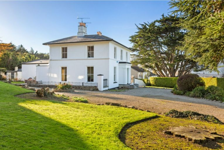 Mount Auburn House in Killiney is set on 0.72 of an acre of walled gardens and mature trees